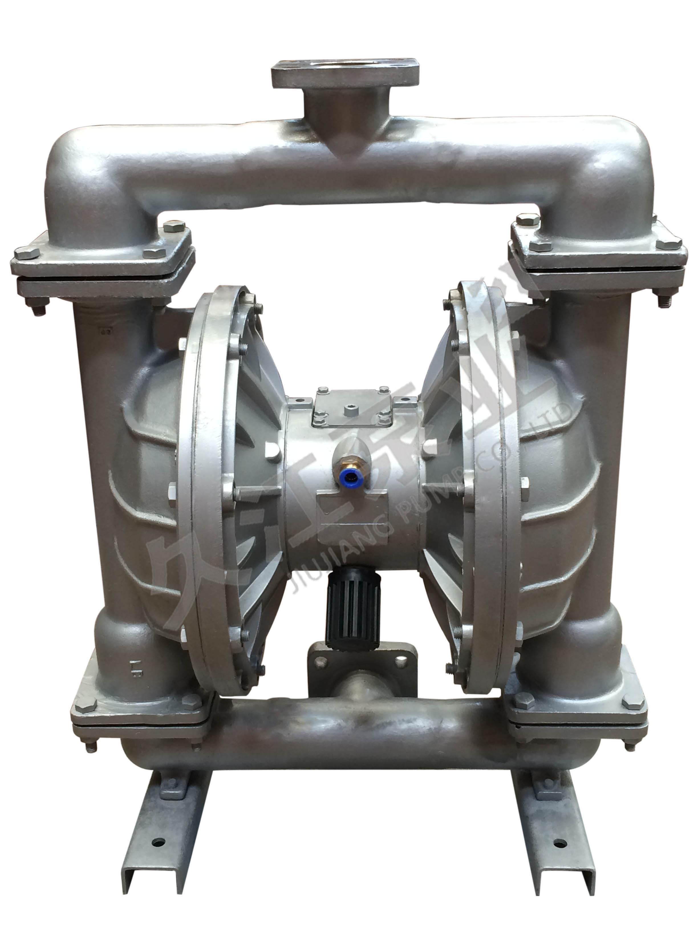 qby3/qbk不锈钢气动隔膜泵(法兰)图片
